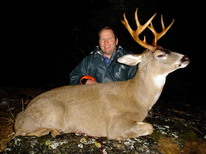 Blacktail Deer Treasure Hunter Lodge Trophy Sitka